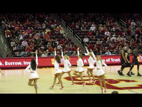 USC Song Girls - Timeout performance USC vs Washington 3/4/2017