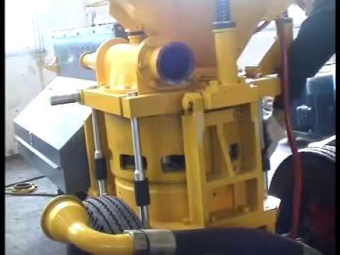 Máy phun vẩy bê tông model TK.avi