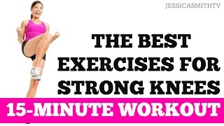 The Best Leg Exercises for Knee Strength and Stability   15-Minute Strong Knees Workout