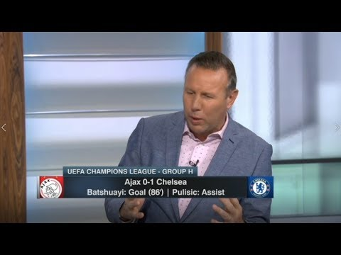 ESPN FC | Chelsea 1-0 Ajax; Batshuayi: Goal (86'): Post Match Analysis - Craig Burley REACTION