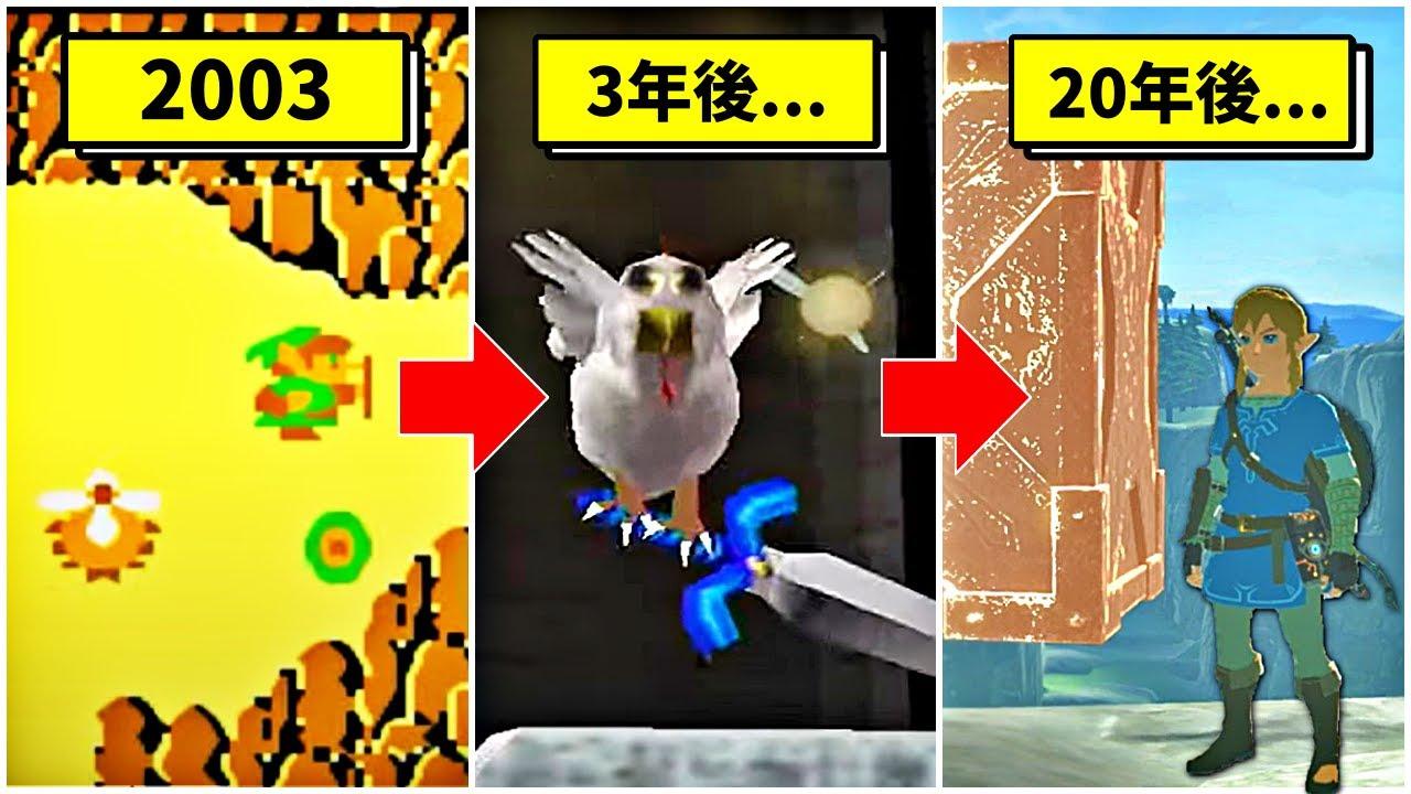 【歴代メイドインワリオ】進化したゼルダの伝説 プチゲーム集