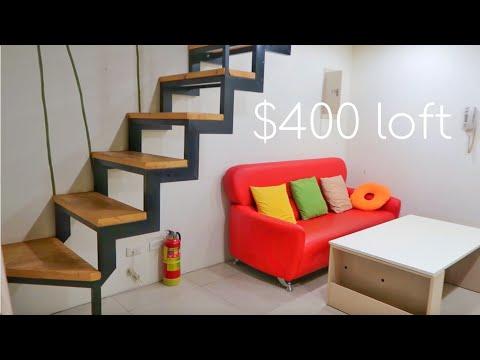 Inside a $400 loft | Taiwan Apartment tour