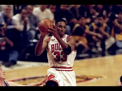 Bulls vs. Jazz (1997 NBA Finals Game 6) - Bulls win 5th title