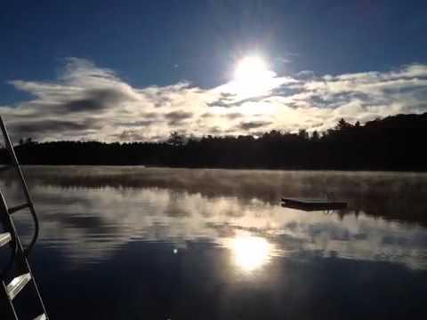 Lake of Bays Morning Mist