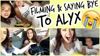 Claudia'sLife: Filming in Bed & Saying Goodbye to Alyx :( Thumbnail