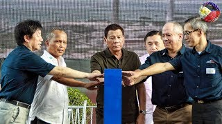 duterte latest news june 01 2018 duterte at the inauguration of the 420 megawatts power project