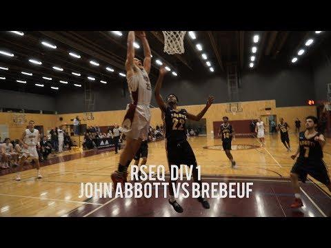 John Abbott vs College Jean-de-Brebeuf | RSEQ Div 1 | Full Game Highlight | January 26 2018