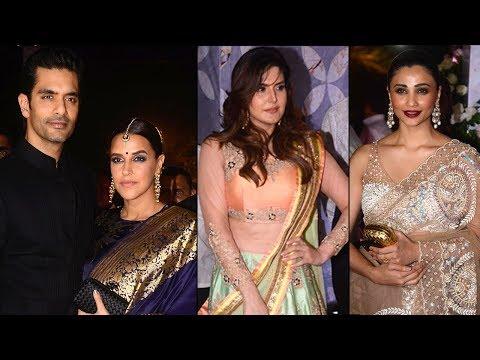 Poorna Patel Wedding : Neha Dhupia & Angad Bedi, Daisy Shah, Zarine Khan