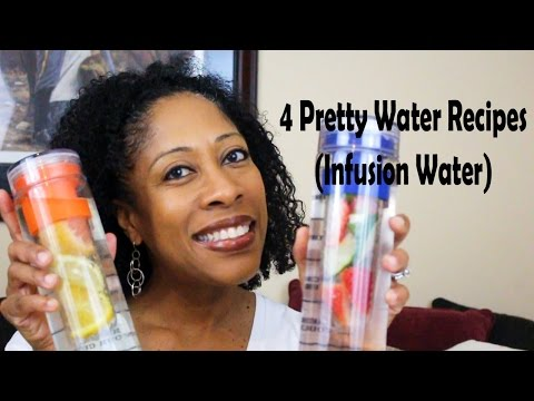 The Best Fruit Infusion Water Bottle and 4 Awesome Water Infusion Recipes