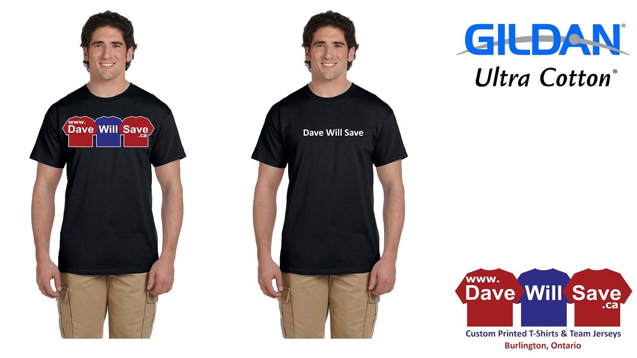 T Shirt Review Gildan Ultra Cotton