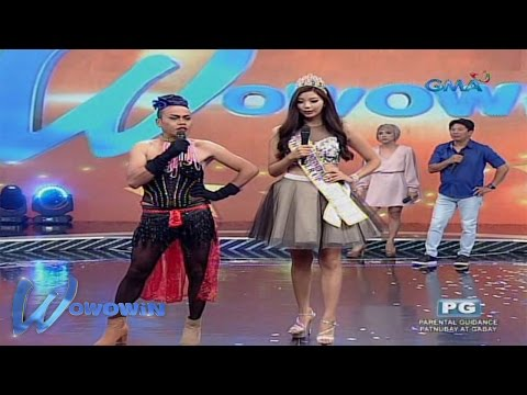 Wowowin: DonEkla meets the Miss Asia Pacific beauties