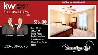 3 Bed 2.5 Bath Home for Sale w/Finished Lower Level in Garfield Park of Lebanon OH