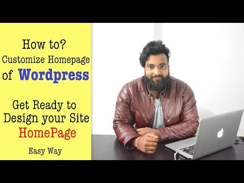 How to Customize HomePage of WordPress Site like a Pro - Everything Explained - 동영상
