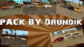 Обзор на пак транспорта от Drundik,a [GTA San Andreas]