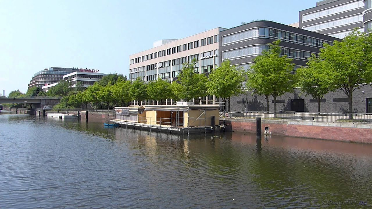 Hausboot Hamburg hamburg hammerbrook mittelkanal hausboot im bau hd