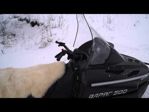 Видеообзор снегохода Тайга Варяг 500 (1 часть)