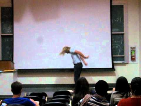 UC Berkeley Math Professor - Backflip in Lecture!