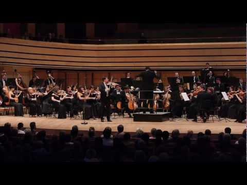 Tchaikovsky D major Violin Concerto Op. 35 - i. mvmt.
