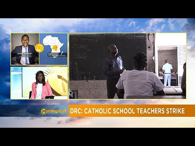 DRC: Teachers strike paralyse catholic private schools (Morning Call)