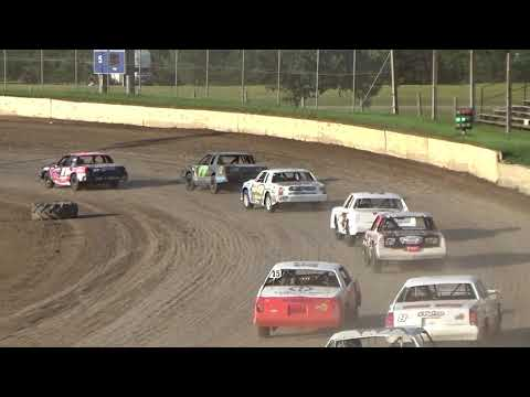 IMCA Hobby Stock Heat North Central Speedway 8-3-2019