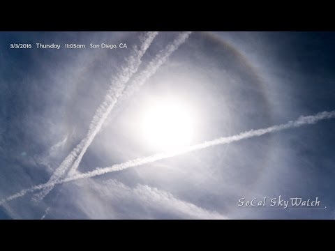 Planes Spray 4 Crossed Chemtrails Solar Halo Intensifies Mp3