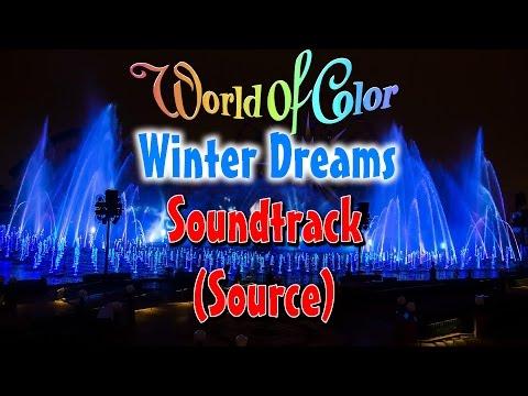 World Of Color – Winter Dreams Soundtrack W/ Lyrics/Subtitles (Source; 2013 Version)