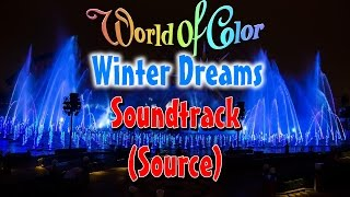 World of Color – Winter Dreams Soundtrack w/ Lyrics/Subtitles (Source; 2013 Version)