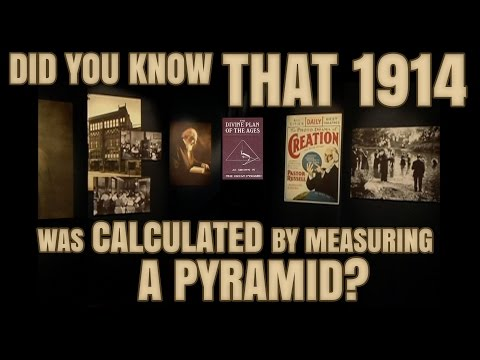 Jehovah's Witnesses & 1914... did you know a *Pyramid* was used to calculate?