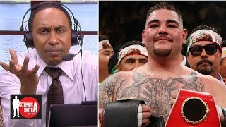 Stephen A. calls out Ruiz Jr., Alvarez for questioning his boxing knowledge | Stephen A. Smith Show