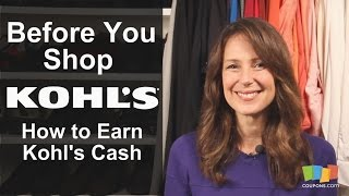 Kohl's: How To Earn Kohl's Cash