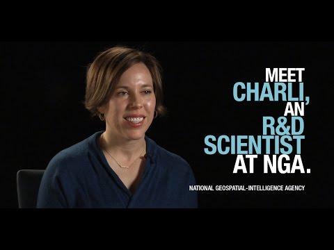 Meet Charli, an R&D scientist at NGA