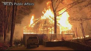 Fire destroys couple's home hours before their wedding