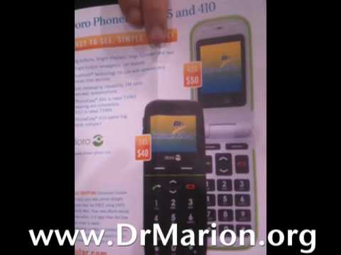 CES 2010 - Doro Mobile Phones