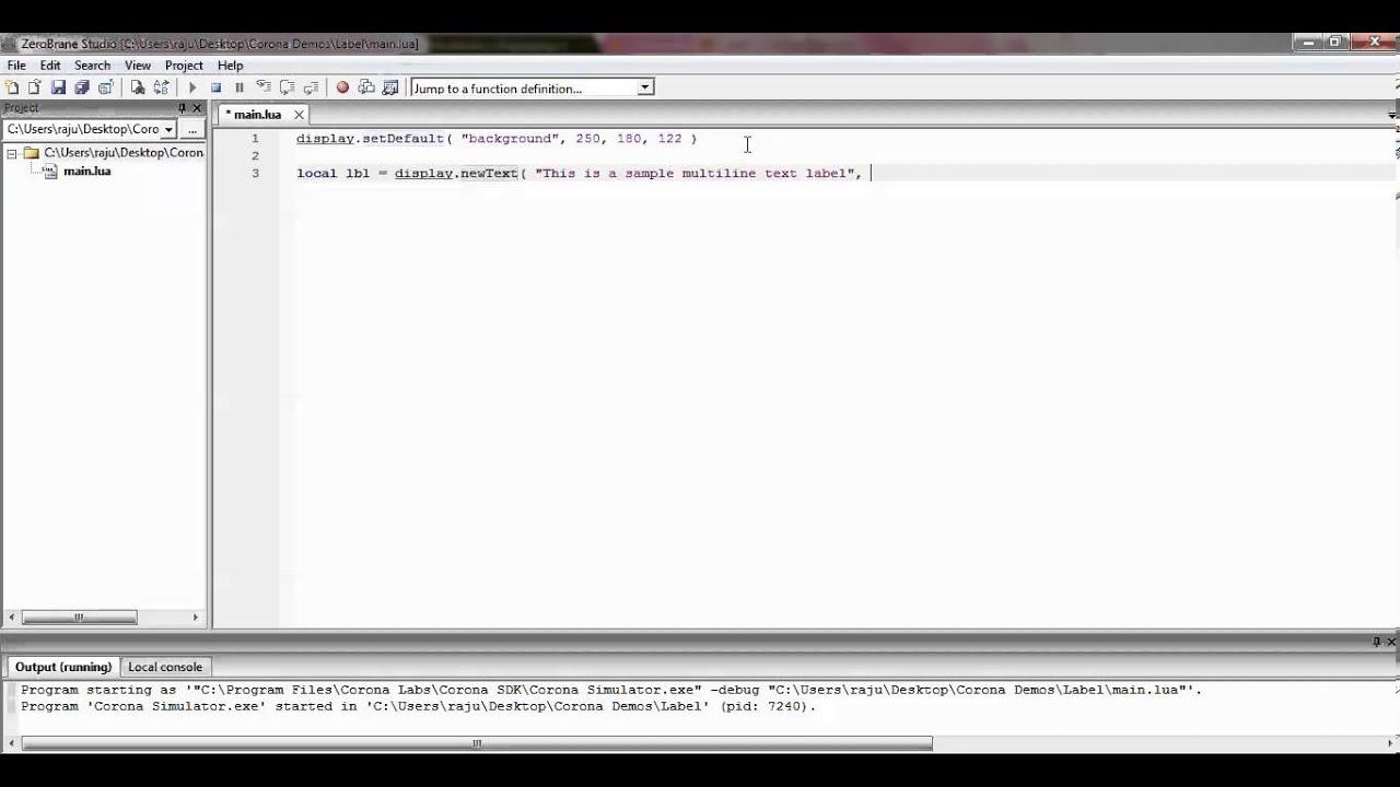 Multiline label (HTML) : JLabel « Swing « Java Tutorial