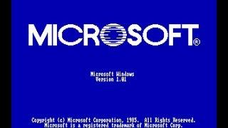 обзор Windows 1.0