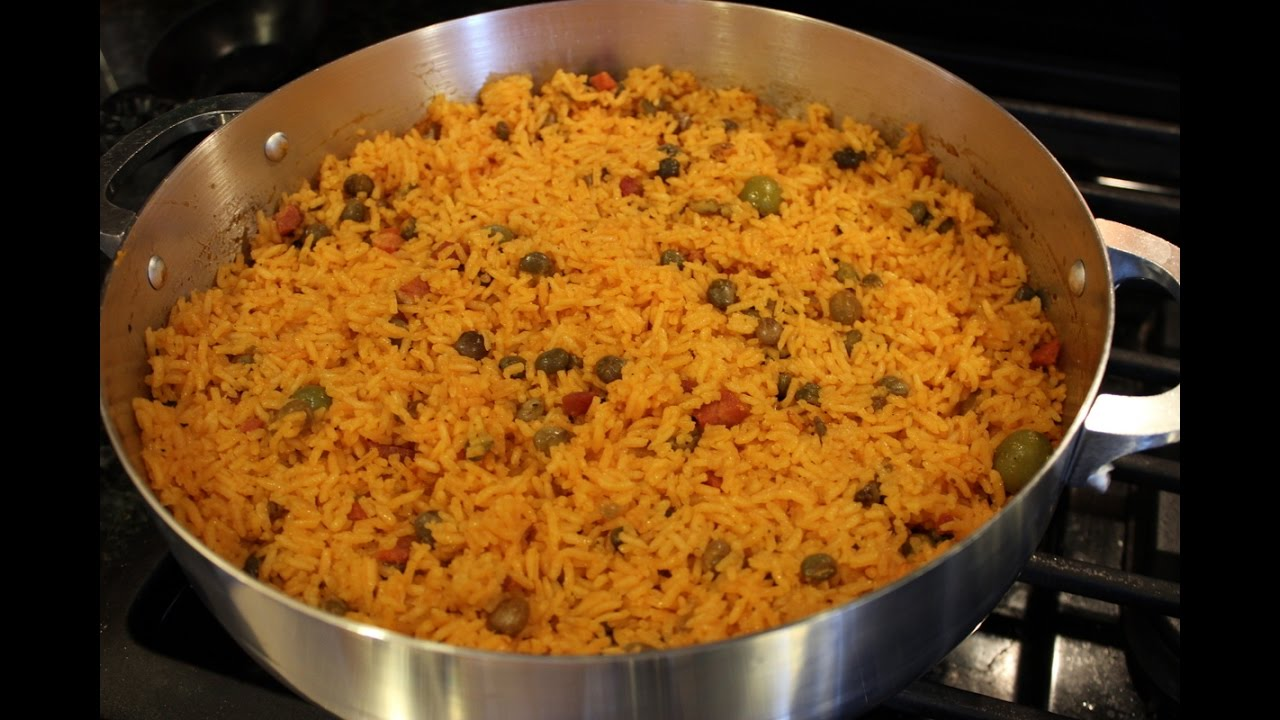 How To Make Authentic Puerto Rican Arroz Con Gandules ...