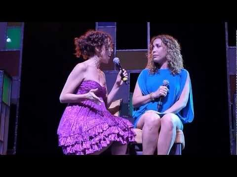 "Janet Dacal and Andrea Burns sing ""A Boy Like That"" from West Side Story on The Broadway Cruise"