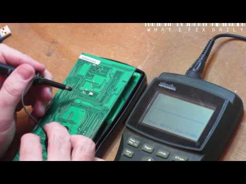 What I fix daily - Protek608 Multimeter to USB mod [ Trolled by my own software! ]