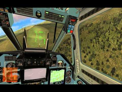 DCS KA-50 Прохождение кампании Командировка миссия 1