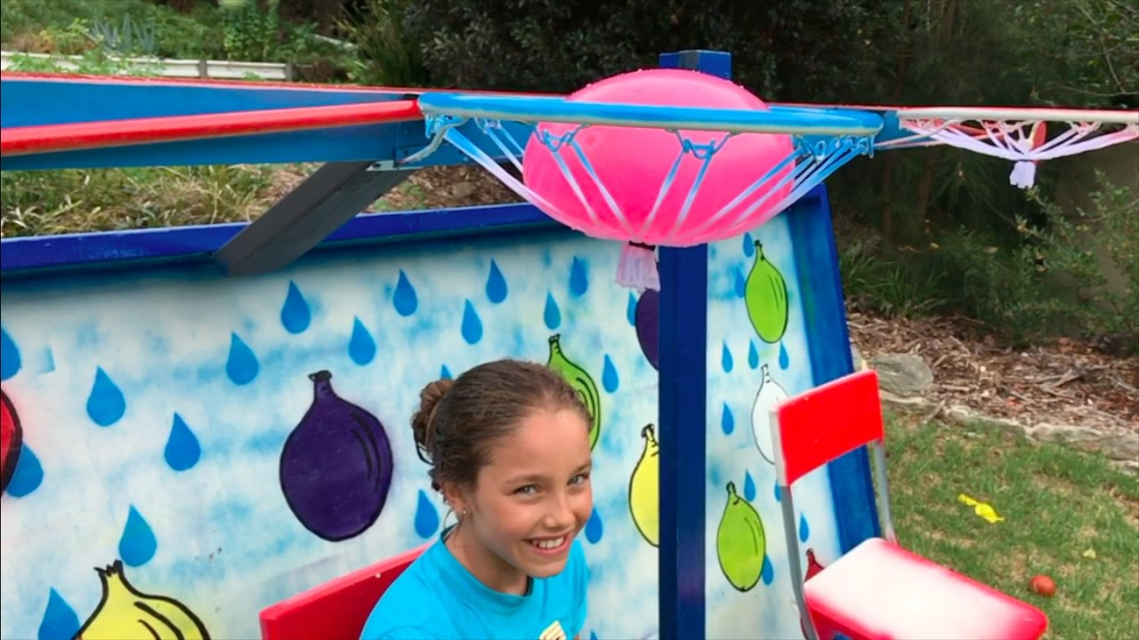 Dunking Chair Carnival Game Make Science Fun Youtube