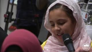 ''I LOVE YOU HUZOOR,'' Says Little Arab Girl in Mulaqat