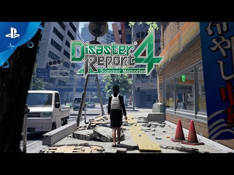 Disaster Report 4: Summer Memories -  Gameplay Trailer | PS4