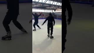 Jayden's birthday Ice skating zoo