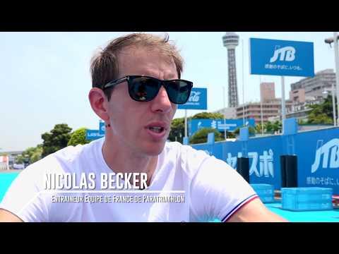 Triathlon : dans les coulisses de la WPS de Yokohama 2016 handisport