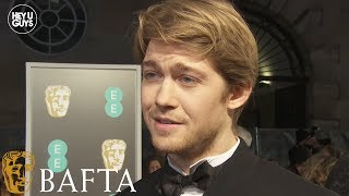 Joe Alwyn on The Favourite and Mary Queen of Scots at the 2019 BAFTAs