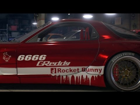 Need for speed 2015 how to use hidden decal of rocket bunny ex 6666 on wrap editor