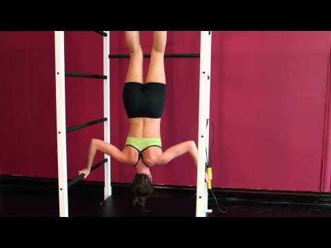 Core Fitness System - Rachel Inversion Exercise Routine