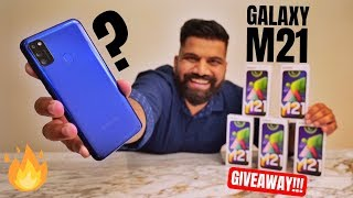 Samsung Galaxy M21 Unboxing & First Look | 48MP + 6000mAh #WattaMonster? GIVEAWAY