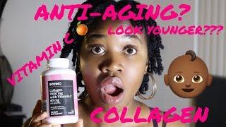 collagen #vitaminc #solimo #amazon #amazonprime #glowup #dietarysupplement ...