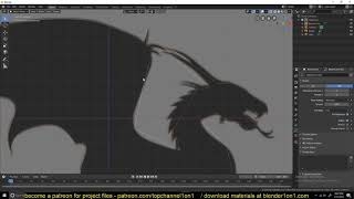 blender 2.8 daily tip  trace any object using curves 20x faster